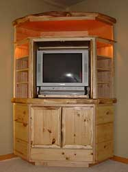 Custom Corner Entertainment Center Plans
